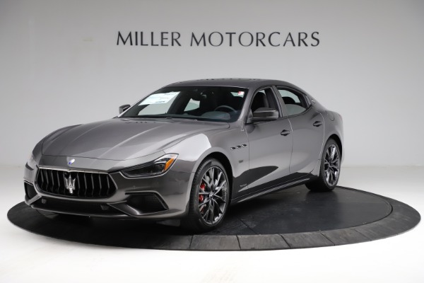 New 2021 Maserati Ghibli S Q4 GranSport for sale $100,285 at Alfa Romeo of Greenwich in Greenwich CT 06830 2