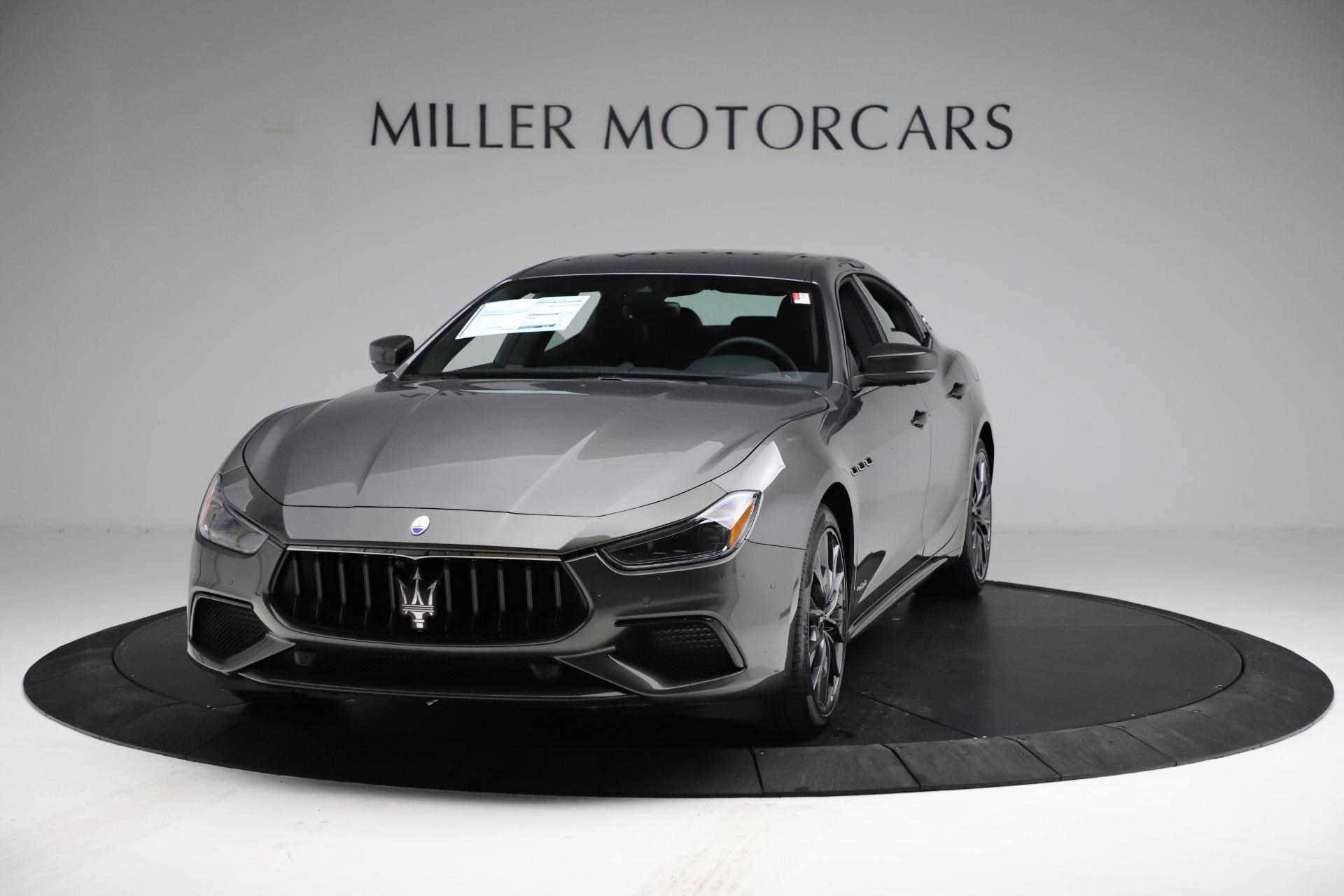 New 2021 Maserati Ghibli S Q4 GranSport for sale $100,285 at Alfa Romeo of Greenwich in Greenwich CT 06830 1