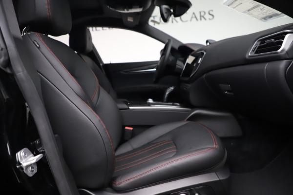 New 2021 Maserati Ghibli S Q4 for sale $86,654 at Alfa Romeo of Greenwich in Greenwich CT 06830 21
