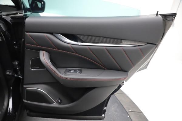 New 2021 Maserati Levante GTS for sale $135,485 at Alfa Romeo of Greenwich in Greenwich CT 06830 25