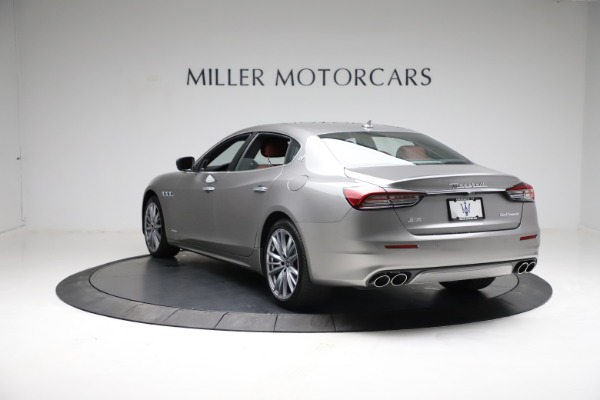 New 2021 Maserati Quattroporte S Q4 GranLusso for sale $122,435 at Alfa Romeo of Greenwich in Greenwich CT 06830 5