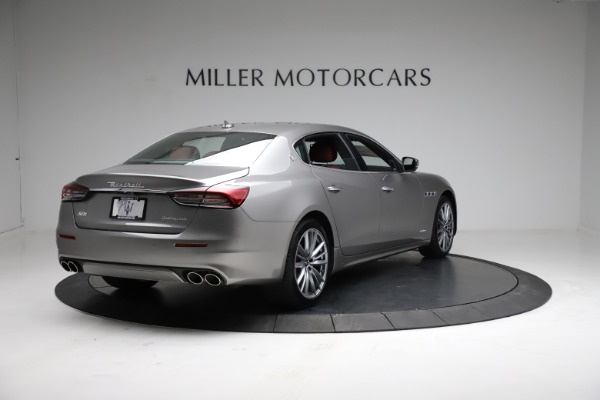 New 2021 Maserati Quattroporte S Q4 GranLusso for sale $122,435 at Alfa Romeo of Greenwich in Greenwich CT 06830 7
