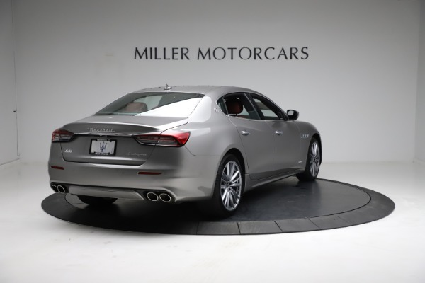 New 2021 Maserati Quattroporte S Q4 GranLusso for sale $122,435 at Alfa Romeo of Greenwich in Greenwich CT 06830 8
