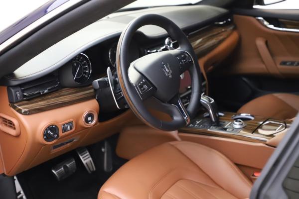 New 2021 Maserati Quattroporte S Q4 GranLusso for sale $123,549 at Alfa Romeo of Greenwich in Greenwich CT 06830 12