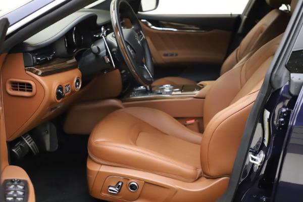 New 2021 Maserati Quattroporte S Q4 GranLusso for sale $123,549 at Alfa Romeo of Greenwich in Greenwich CT 06830 13