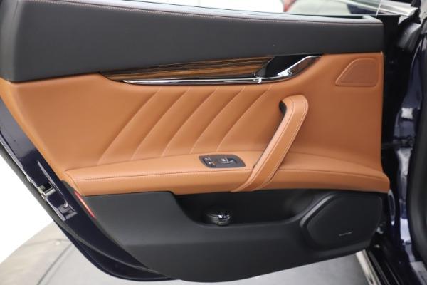 New 2021 Maserati Quattroporte S Q4 GranLusso for sale $123,549 at Alfa Romeo of Greenwich in Greenwich CT 06830 18
