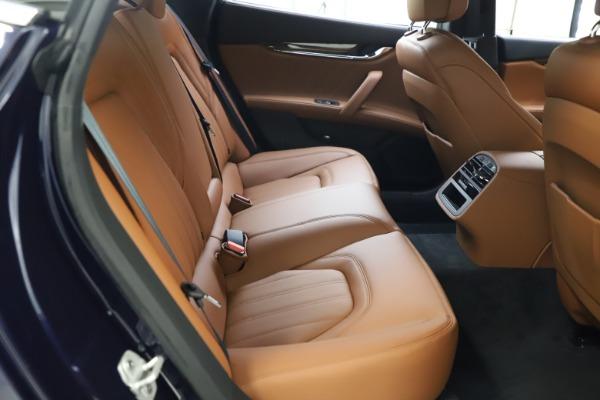New 2021 Maserati Quattroporte S Q4 GranLusso for sale $123,549 at Alfa Romeo of Greenwich in Greenwich CT 06830 19