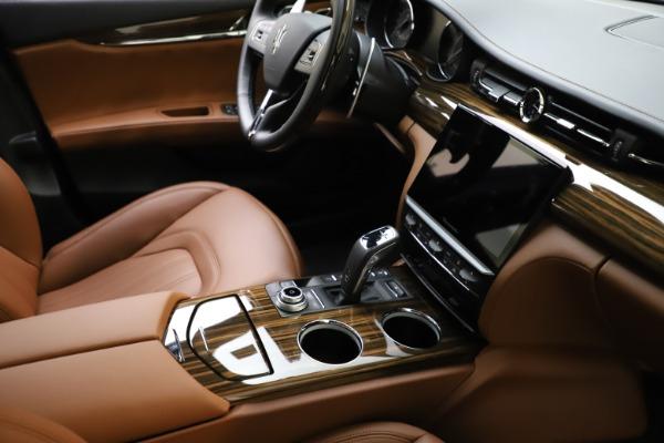 New 2021 Maserati Quattroporte S Q4 GranLusso for sale $123,549 at Alfa Romeo of Greenwich in Greenwich CT 06830 21