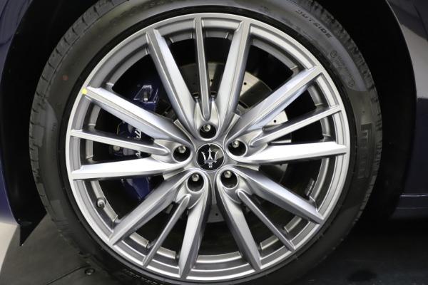 New 2021 Maserati Quattroporte S Q4 GranLusso for sale $123,549 at Alfa Romeo of Greenwich in Greenwich CT 06830 24