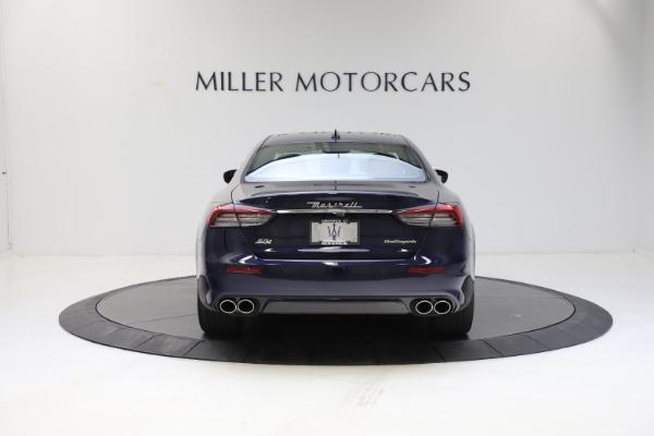 New 2021 Maserati Quattroporte S Q4 GranLusso for sale $123,549 at Alfa Romeo of Greenwich in Greenwich CT 06830 5