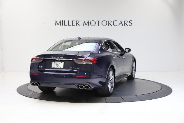 New 2021 Maserati Quattroporte S Q4 GranLusso for sale $123,549 at Alfa Romeo of Greenwich in Greenwich CT 06830 6
