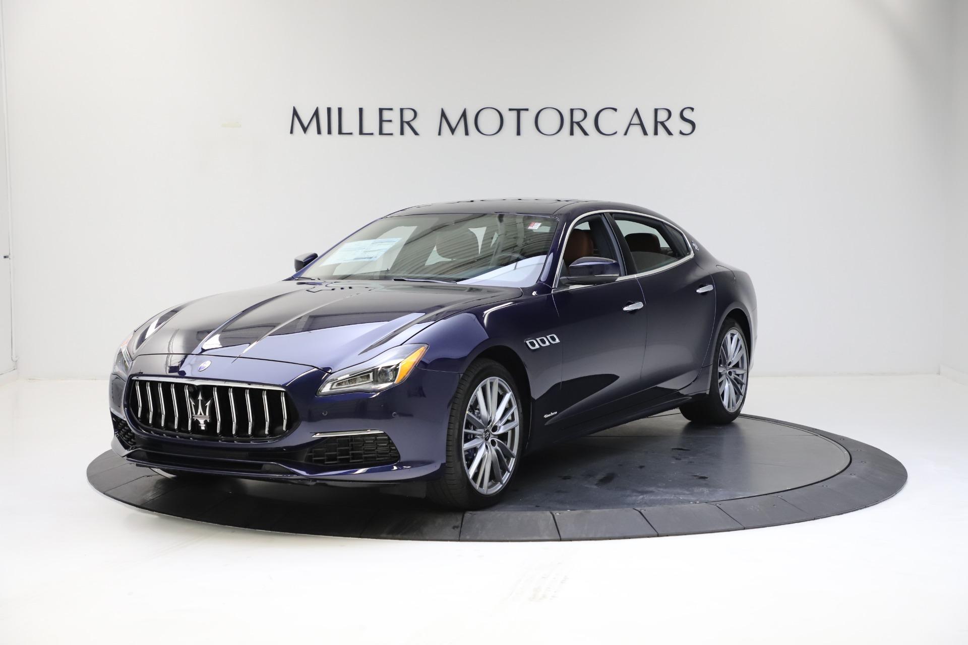 New 2021 Maserati Quattroporte S Q4 GranLusso for sale $123,549 at Alfa Romeo of Greenwich in Greenwich CT 06830 1
