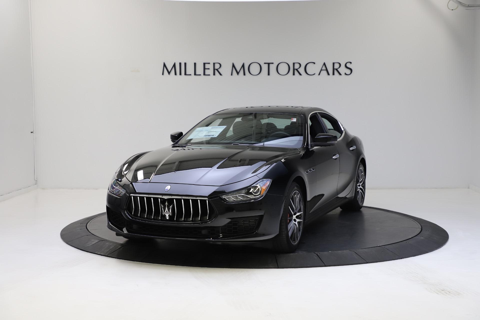 New 2021 Maserati Ghibli S Q4 for sale $86,654 at Alfa Romeo of Greenwich in Greenwich CT 06830 1