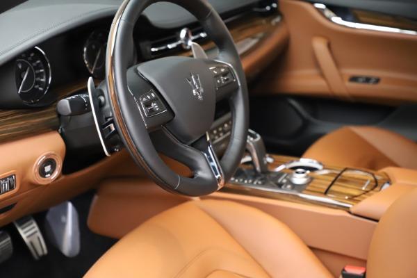 New 2021 Maserati Quattroporte S Q4 for sale $114,149 at Alfa Romeo of Greenwich in Greenwich CT 06830 13