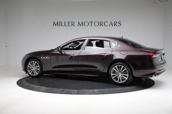 New 2021 Maserati Quattroporte S Q4 for sale $114,149 at Alfa Romeo of Greenwich in Greenwich CT 06830 3
