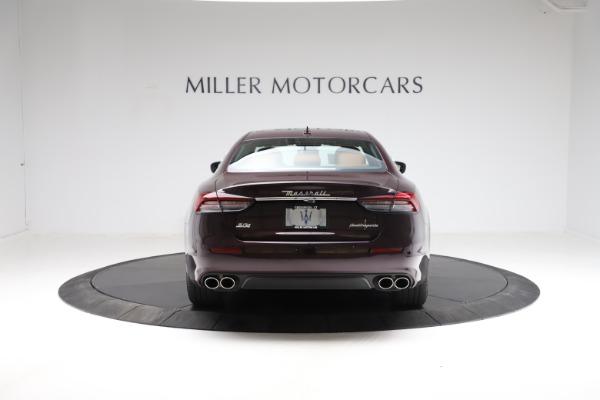 New 2021 Maserati Quattroporte S Q4 for sale $114,149 at Alfa Romeo of Greenwich in Greenwich CT 06830 6