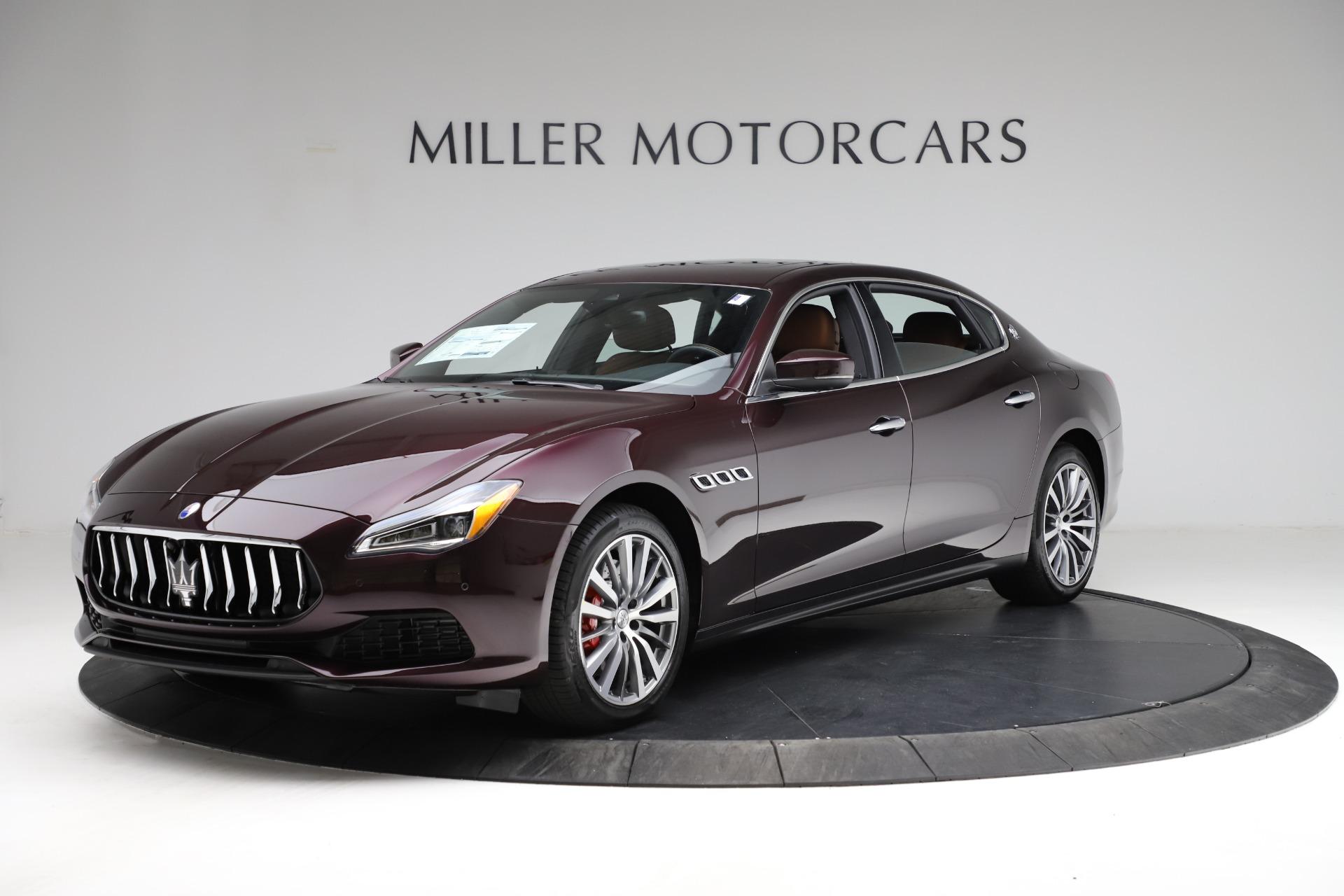 New 2021 Maserati Quattroporte S Q4 for sale $114,149 at Alfa Romeo of Greenwich in Greenwich CT 06830 1