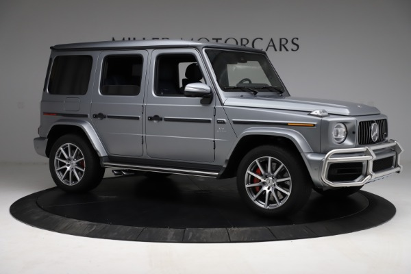 Used 2021 Mercedes-Benz G-Class AMG G 63 for sale $219,900 at Alfa Romeo of Greenwich in Greenwich CT 06830 10