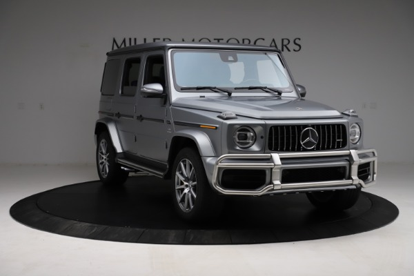 Used 2021 Mercedes-Benz G-Class AMG G 63 for sale $219,900 at Alfa Romeo of Greenwich in Greenwich CT 06830 11