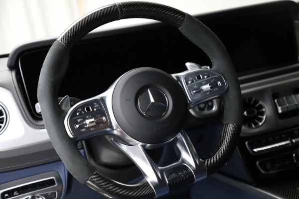 Used 2021 Mercedes-Benz G-Class AMG G 63 for sale $219,900 at Alfa Romeo of Greenwich in Greenwich CT 06830 18