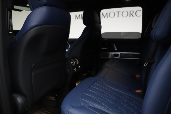 Used 2021 Mercedes-Benz G-Class AMG G 63 for sale $219,900 at Alfa Romeo of Greenwich in Greenwich CT 06830 19