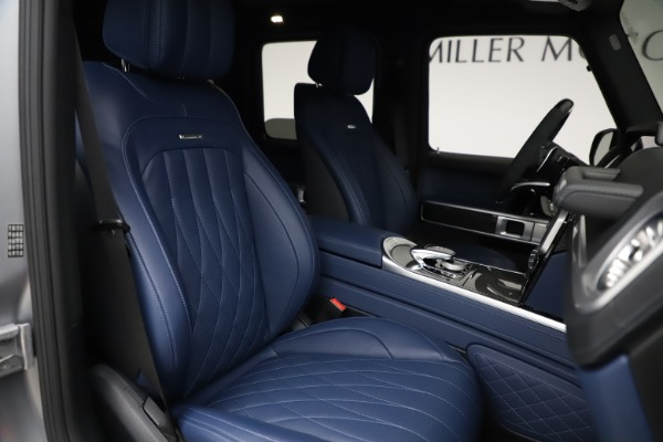 Used 2021 Mercedes-Benz G-Class AMG G 63 for sale $219,900 at Alfa Romeo of Greenwich in Greenwich CT 06830 23