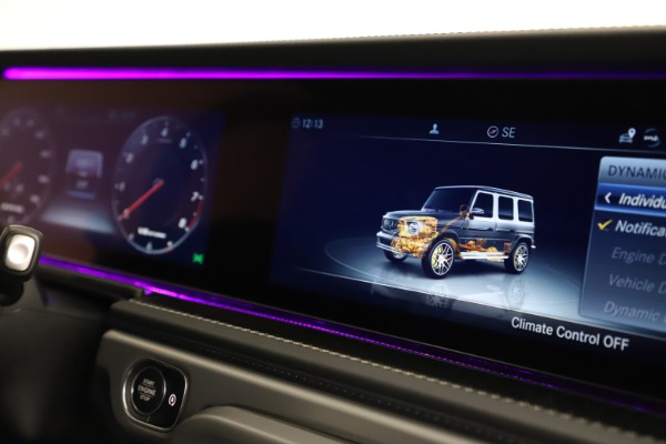 Used 2021 Mercedes-Benz G-Class AMG G 63 for sale $219,900 at Alfa Romeo of Greenwich in Greenwich CT 06830 24