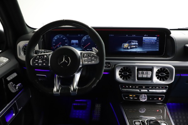 Used 2021 Mercedes-Benz G-Class AMG G 63 for sale $219,900 at Alfa Romeo of Greenwich in Greenwich CT 06830 25