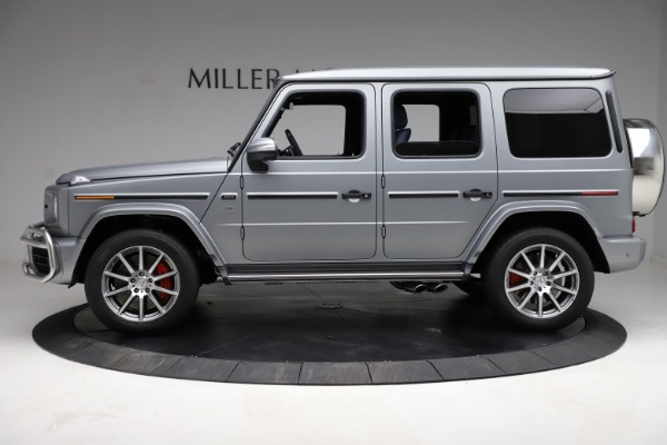 Used 2021 Mercedes-Benz G-Class AMG G 63 for sale $219,900 at Alfa Romeo of Greenwich in Greenwich CT 06830 3