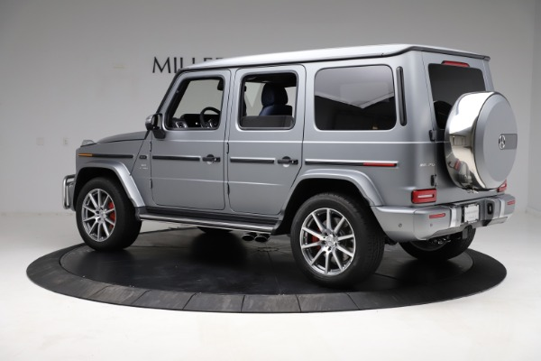 Used 2021 Mercedes-Benz G-Class AMG G 63 for sale $219,900 at Alfa Romeo of Greenwich in Greenwich CT 06830 4