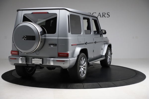 Used 2021 Mercedes-Benz G-Class AMG G 63 for sale $219,900 at Alfa Romeo of Greenwich in Greenwich CT 06830 7