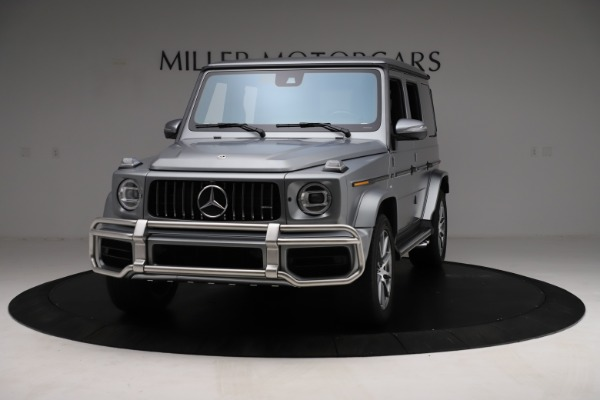 Used 2021 Mercedes-Benz G-Class AMG G 63 for sale $219,900 at Alfa Romeo of Greenwich in Greenwich CT 06830 1