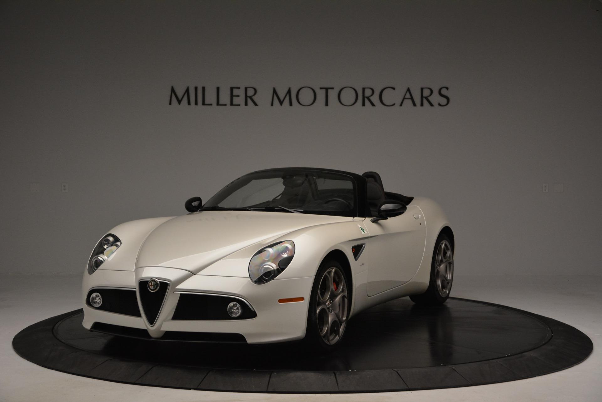 Used 2009 Alfa Romeo 8C Competizione Spider for sale $345,900 at Alfa Romeo of Greenwich in Greenwich CT 06830 1
