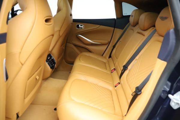 New 2021 Aston Martin DBX for sale $205,386 at Alfa Romeo of Greenwich in Greenwich CT 06830 18