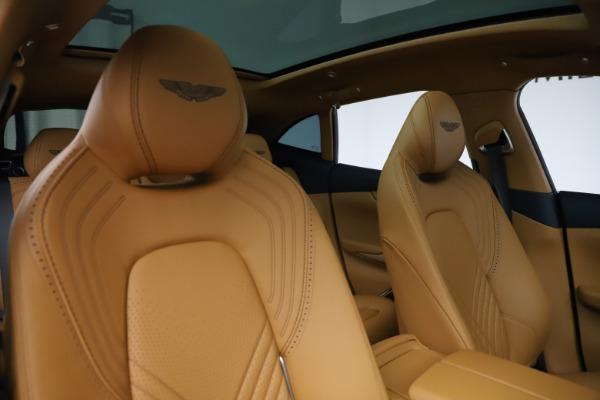 New 2021 Aston Martin DBX for sale $205,386 at Alfa Romeo of Greenwich in Greenwich CT 06830 21