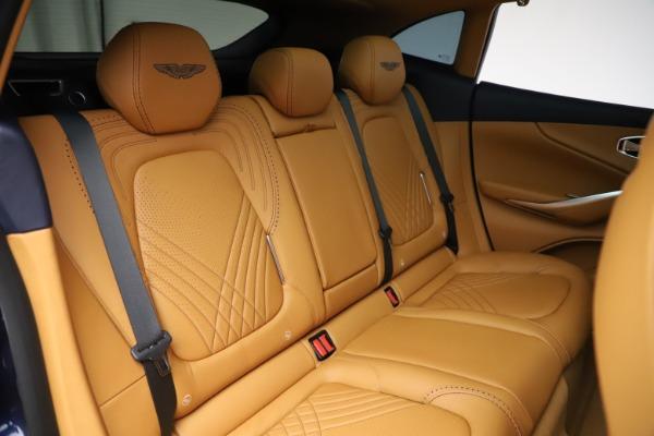 New 2021 Aston Martin DBX for sale $205,386 at Alfa Romeo of Greenwich in Greenwich CT 06830 22