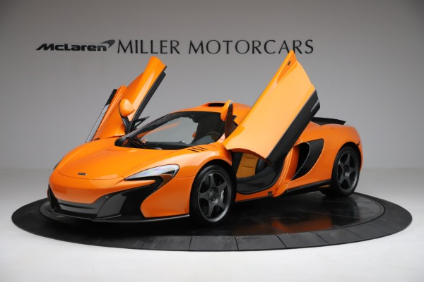 Used 2015 McLaren 650S LeMans for sale $269,990 at Alfa Romeo of Greenwich in Greenwich CT 06830 13