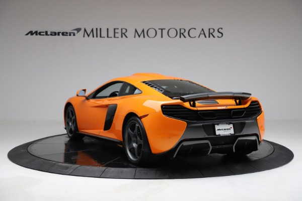 Used 2015 McLaren 650S LeMans for sale $269,990 at Alfa Romeo of Greenwich in Greenwich CT 06830 4