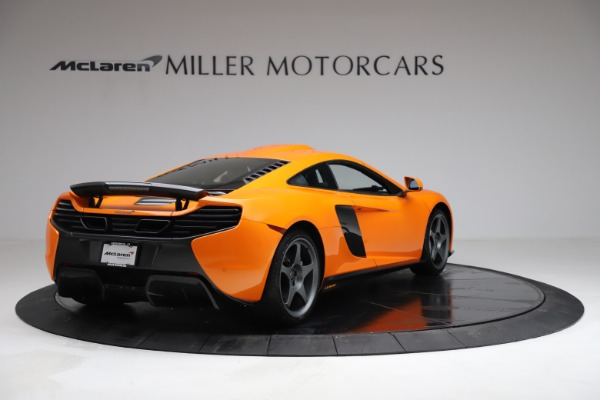 Used 2015 McLaren 650S LeMans for sale $269,990 at Alfa Romeo of Greenwich in Greenwich CT 06830 6
