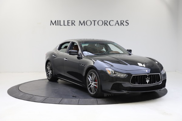 Used 2014 Maserati Ghibli S Q4 for sale Call for price at Alfa Romeo of Greenwich in Greenwich CT 06830 12