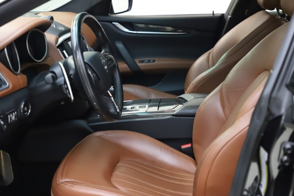 Used 2014 Maserati Ghibli S Q4 for sale Call for price at Alfa Romeo of Greenwich in Greenwich CT 06830 15