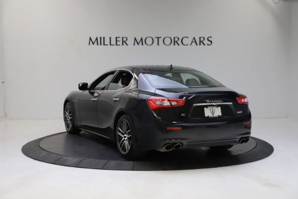 Used 2014 Maserati Ghibli S Q4 for sale Call for price at Alfa Romeo of Greenwich in Greenwich CT 06830 5