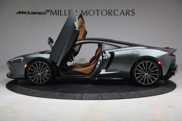 Used 2021 McLaren GT LUXE for sale Call for price at Alfa Romeo of Greenwich in Greenwich CT 06830 15
