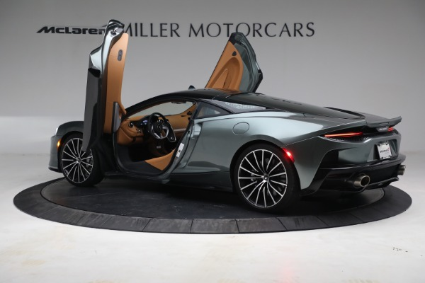 Used 2021 McLaren GT LUXE for sale Call for price at Alfa Romeo of Greenwich in Greenwich CT 06830 16