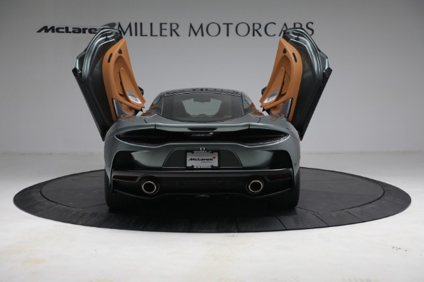 Used 2021 McLaren GT LUXE for sale Call for price at Alfa Romeo of Greenwich in Greenwich CT 06830 17