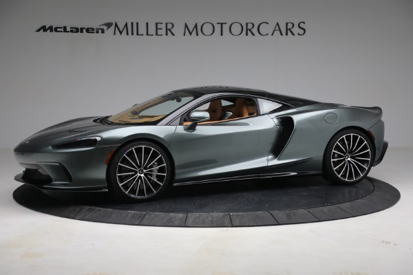Used 2021 McLaren GT LUXE for sale Call for price at Alfa Romeo of Greenwich in Greenwich CT 06830 2