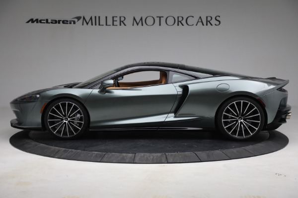 Used 2021 McLaren GT LUXE for sale Call for price at Alfa Romeo of Greenwich in Greenwich CT 06830 3