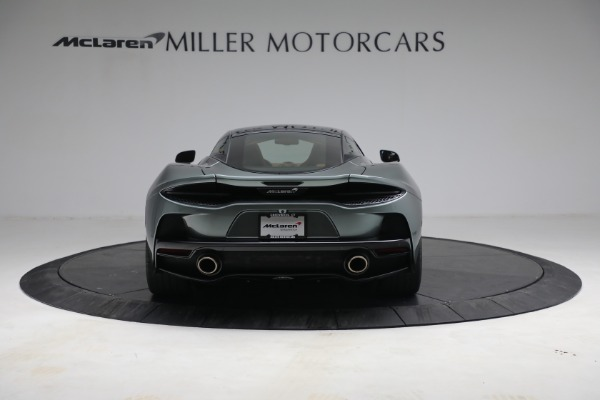 Used 2021 McLaren GT LUXE for sale Call for price at Alfa Romeo of Greenwich in Greenwich CT 06830 6