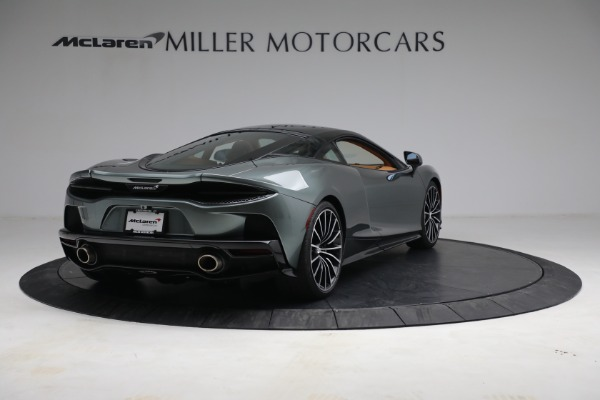Used 2021 McLaren GT LUXE for sale Call for price at Alfa Romeo of Greenwich in Greenwich CT 06830 7