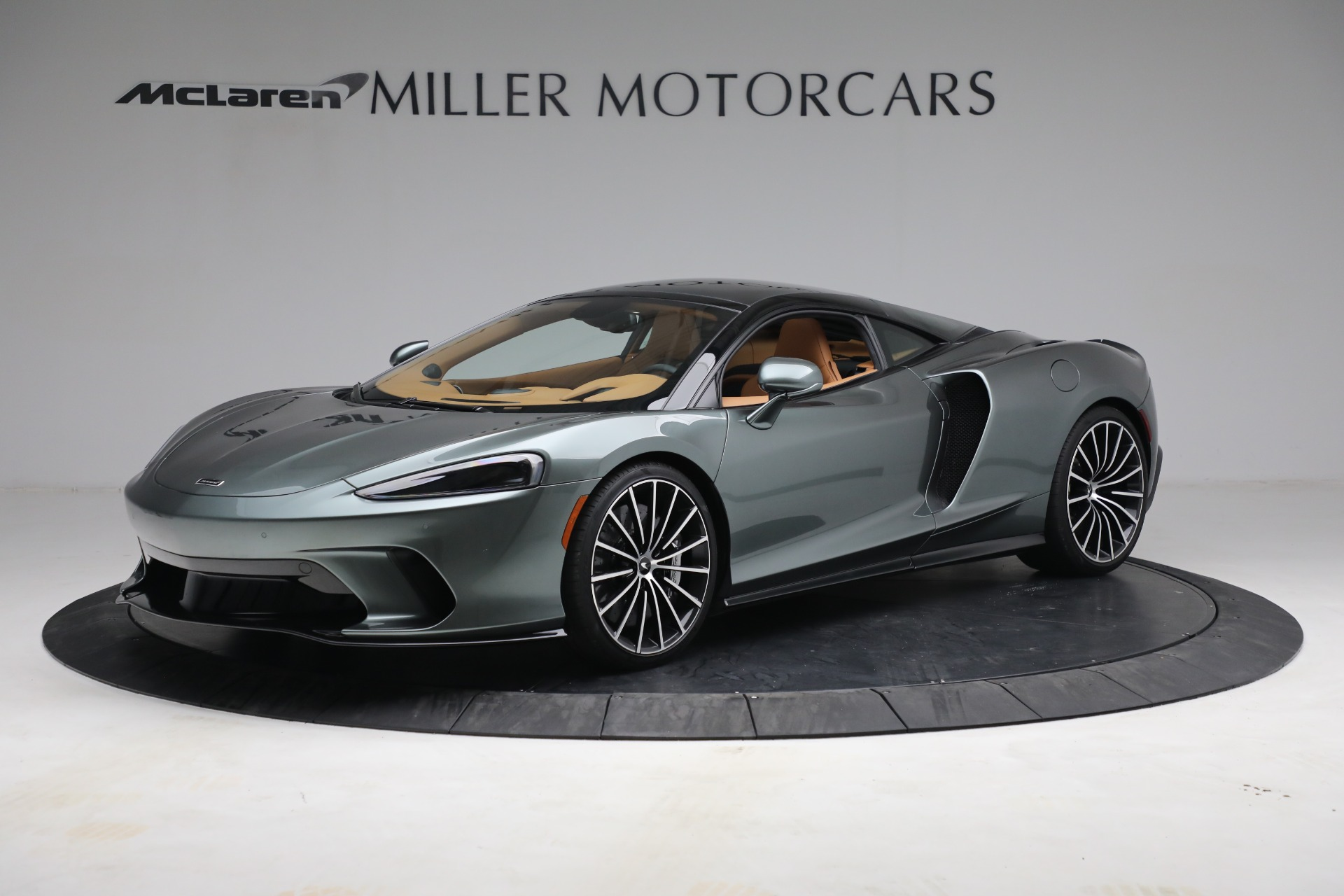 Used 2021 McLaren GT LUXE for sale Call for price at Alfa Romeo of Greenwich in Greenwich CT 06830 1